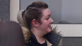 Tracey Balantine attended Antrim Court on Tuesday as her sentence was reduced