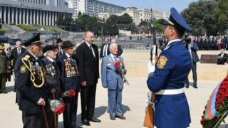 İlham Əliyev, həbçilər və müharibə veteranları