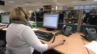 NHS 111 service call handler