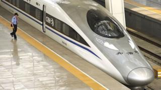 चीन बुलेट ट्रेन