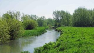 Generic shot of River Windrush