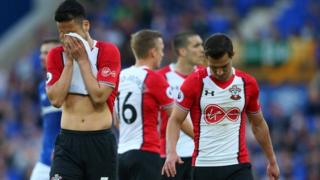 Southampton's player's react to drawing with Everton
