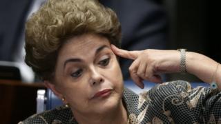 Brezilya'nın görevden alınan Cumhurbaşkanı Dilma Rousseff