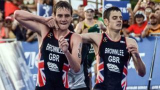 Alistair y Jonathan Brownlee