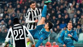 Cristiano Ronaldo bicycle kick