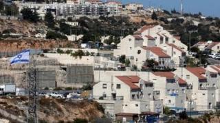 Израильское поселение Кирьят-Арба на Западном берегу