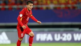 Nhiều cầu thủ U23 Việt Nam như Quang Hải đang đá cho Hà Nội