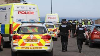 , Teenagers arrested over Portobello Beach disturbance