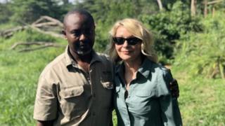 Jean-Paul Mirenge and Kimberly Endicott