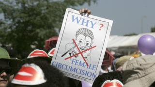 Poster to stop female circumcision