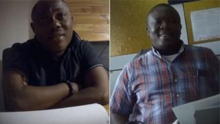 L-R: Professor Ransford Gyampo and Doctor Paul Butakor