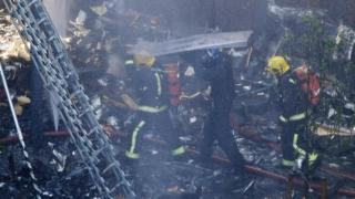 London, Inggris, Kensington, kebakaran