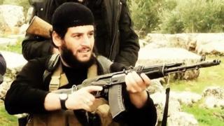 """Abu Maxamed Al-Adnani oo """"lagu dilay"""" Suuriya"""