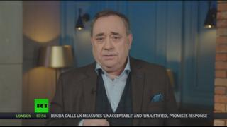 Alex Salmond to continue to host weekly RT programme