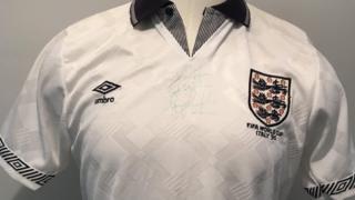 Gary Lineker's 1990 World Cup shirt