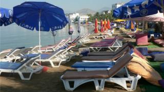 Stock photo: Bodrum coastal resort in Turkey