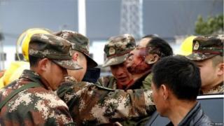 चीन में केमिकल विस्फोट