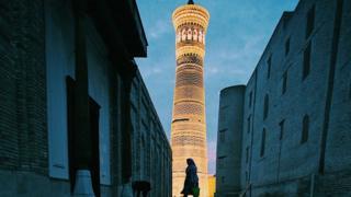 Бухарадагы Калян мечитинин мунарасы
