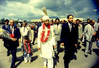 A Pakistani wedding in Stornoway in the 90s