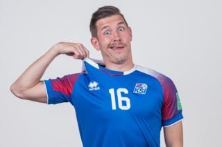 Olafur Skulason of Iceland
