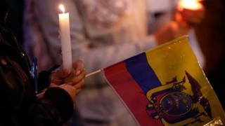 Bandera ecuatoriana