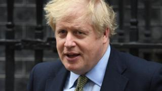 Prime Minister Boris Johnson leaves 10 Downing Street, London, for the House of Commons for Prime Minister's Questions.