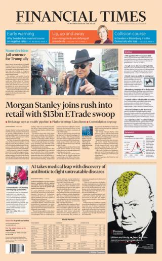 Friday's Financial Times