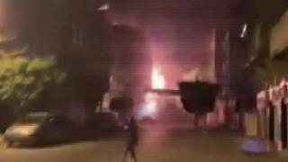 İsrail'in Gazze'deki saldırılarında vurulan, AA ofisinin de bulunduğu bina