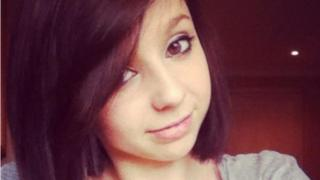 Ellie Clare - died in car crash (her best friend Jasmine Larder was convicted of two counts of death by careless driving)