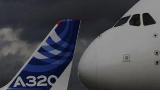 A320 tailfin