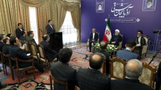 نشست روحانی در پایان سفر به تبریز