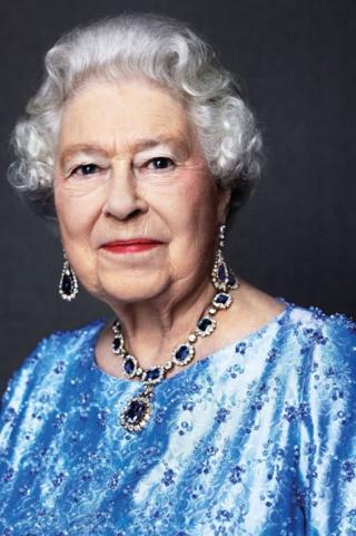 Портрет королевы
