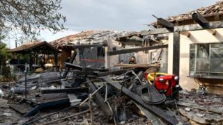 منزل مدمر