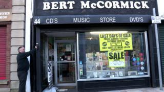 Bert McCormick shop