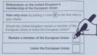 Postal voting form