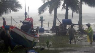 Pak Phanang'da fırtına