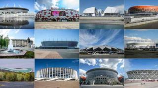 রাশিয়া বিশ্বকাপের ১২টি স্টেডিয়াম