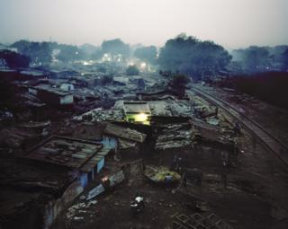 Rakhi Mandi slum, Kanpur, India, 2014