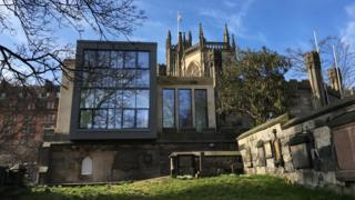 St. John's Church - Alteration and Extension, Edinburgh - contract value £2.35m (LDN Architects for Cornerstone Developments (Edinburgh) Ltd)