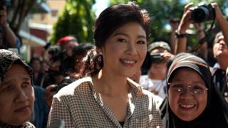 英拉在2011至2014年担任泰国总理。