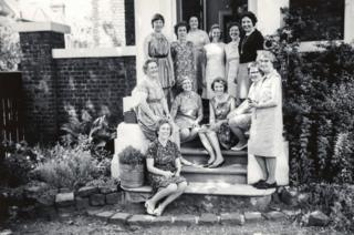 Gilmore House students in 1969