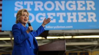 Hillary Clinton ayaa doonaysa inay aad u xoojiso ololaheeda.