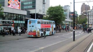 Piccadilly Gardens bus station