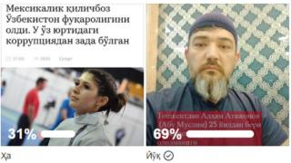 Би-би-си Ўзбекнинг Фейсбукдаги сўрови