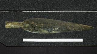 Late Bronze Age weapons discovery hailed as 'find of a lifetime'