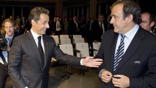 Sarkozy ve Platini