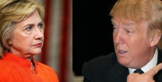 Hillary Clinton and Donald Trump