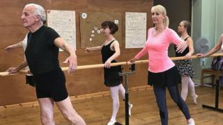 Sittingbourne widower learns ballet and passes exam