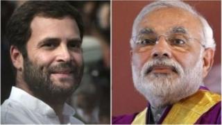 राहुल गांधी, नरेंद्र मोदी, बीजेपी, कांग्रेस