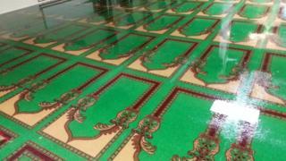 flooded prayer room